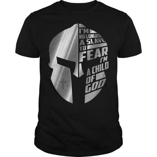 The Mandalorian I'm No Longer A Slave To Fear A Child Of God Shirt