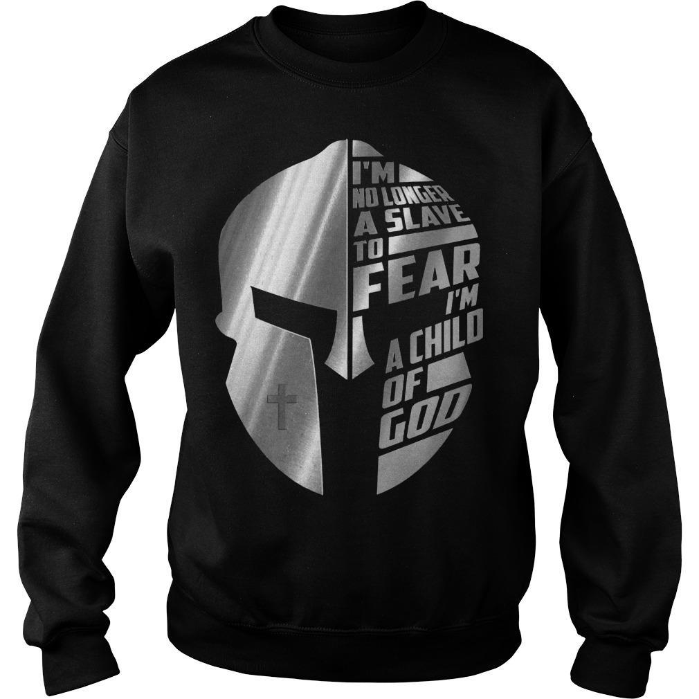 The Mandalorian I'm No Longer A Slave To Fear A Child Of God Sweater