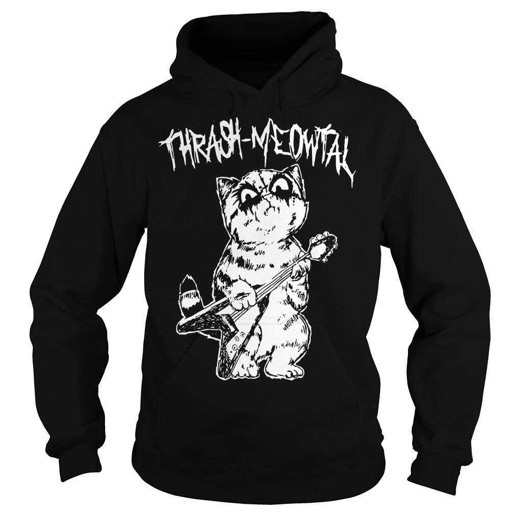Thrash Meowtal Hoodie