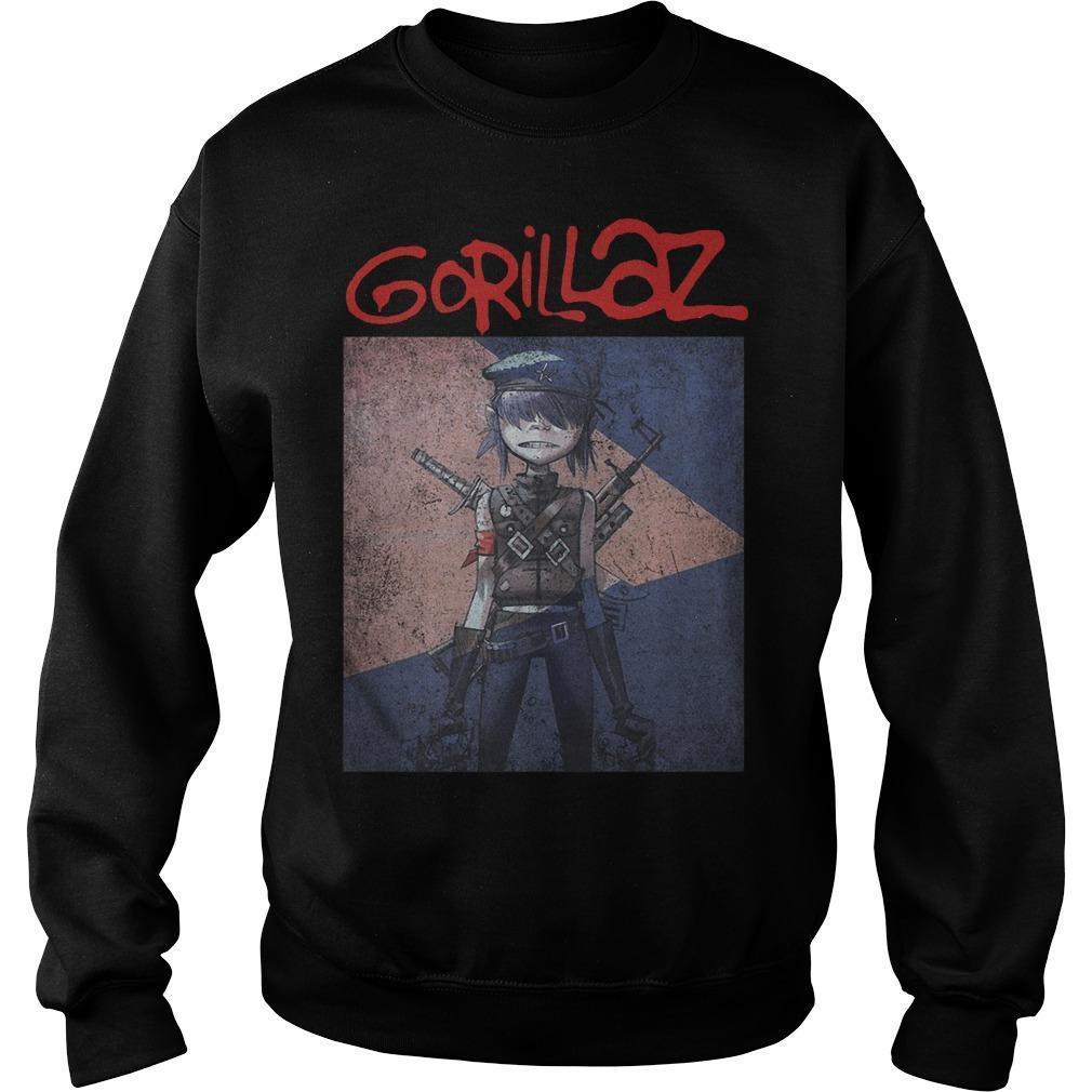Timothee Chalamet Gorillaz T Sweater