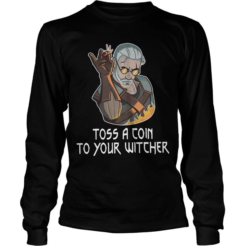 Toss A Join To Your Witcher Longsleeve