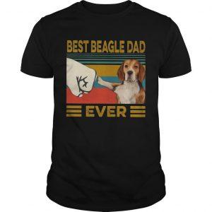 Vintage Best Beagle Dad Ever Shirt