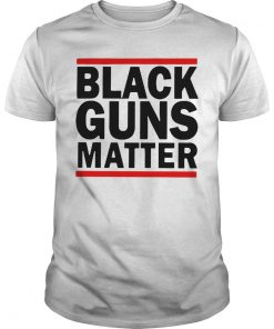 Virginia's Capital Black Guns Matter Shirt
