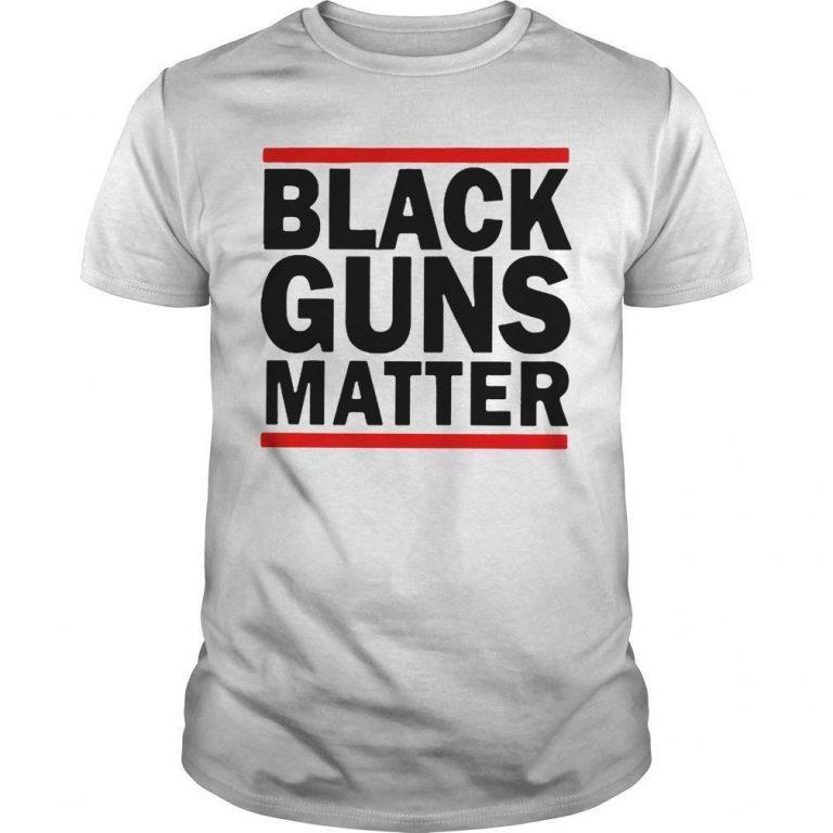 Virginia's Capital Black Guns Matter Shirt