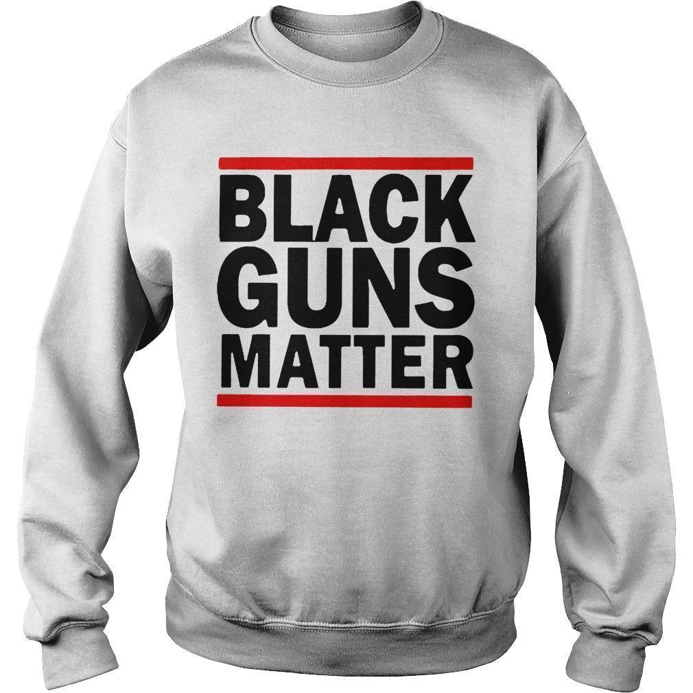 Virginia's Capital Black Guns Matter Sweater