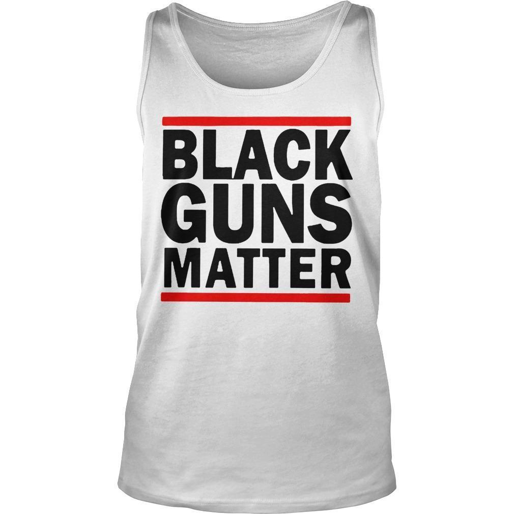 Virginia's Capital Black Guns Matter Tank Top