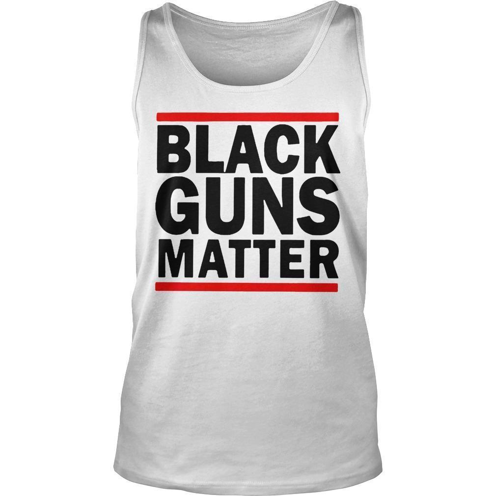 Virginia's Capital Black Guns Matter Tank Top