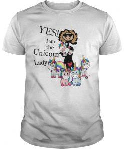 Yes I Am The Unicorn Lady Shirt