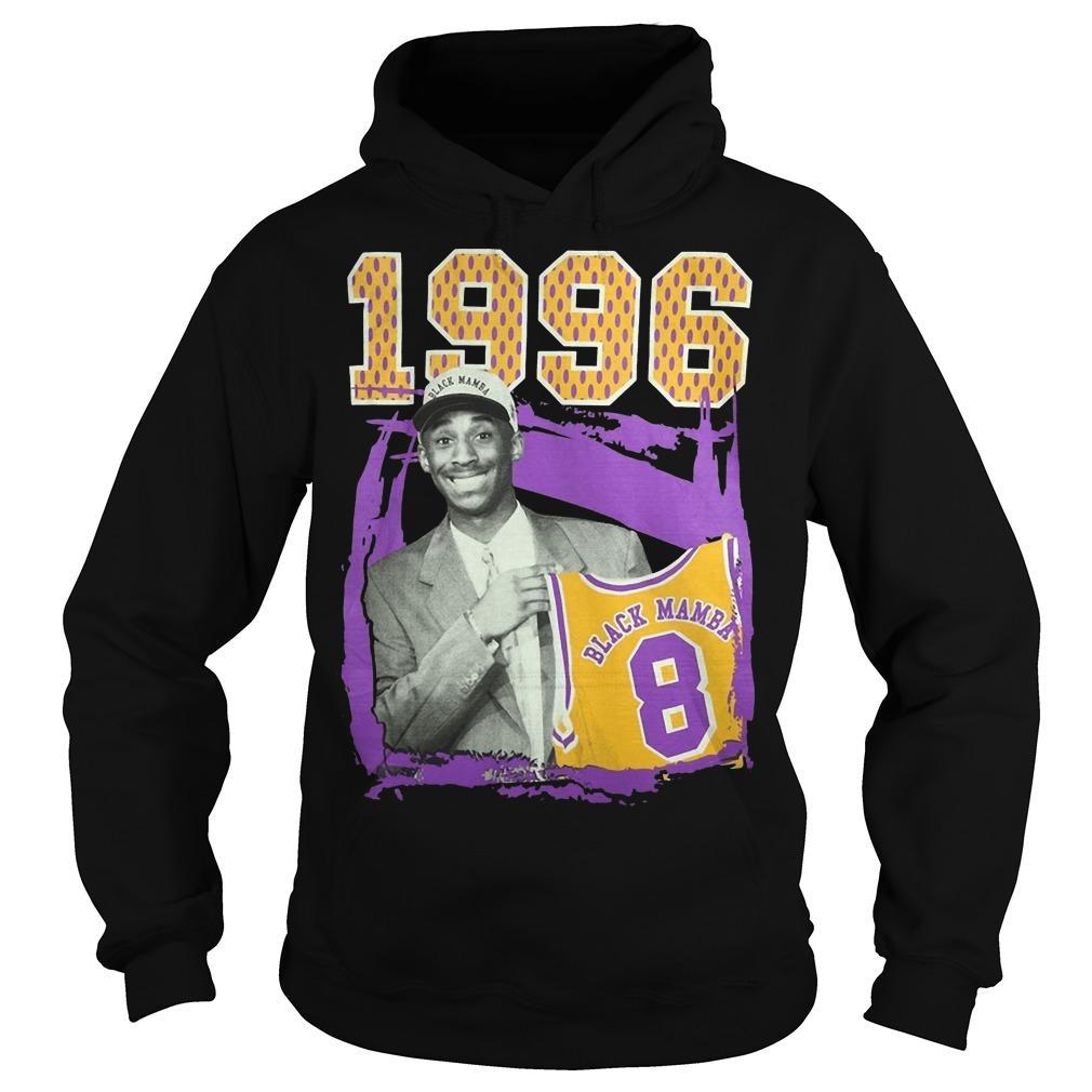 1996 Black Mamba Kobe Bryant Hoodie