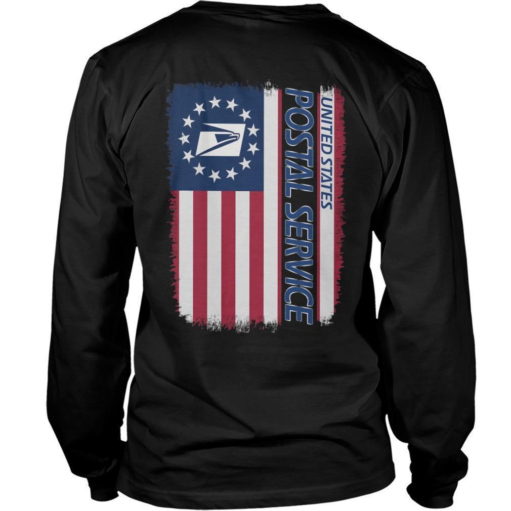 American Flag United States Postal Service Longsleeve