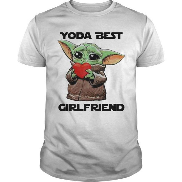 Baby Yoda Best Girlfriend Shirt