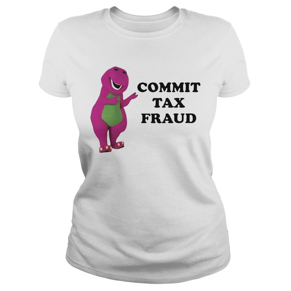 Barney Commit Tax Fraud Longsleeve