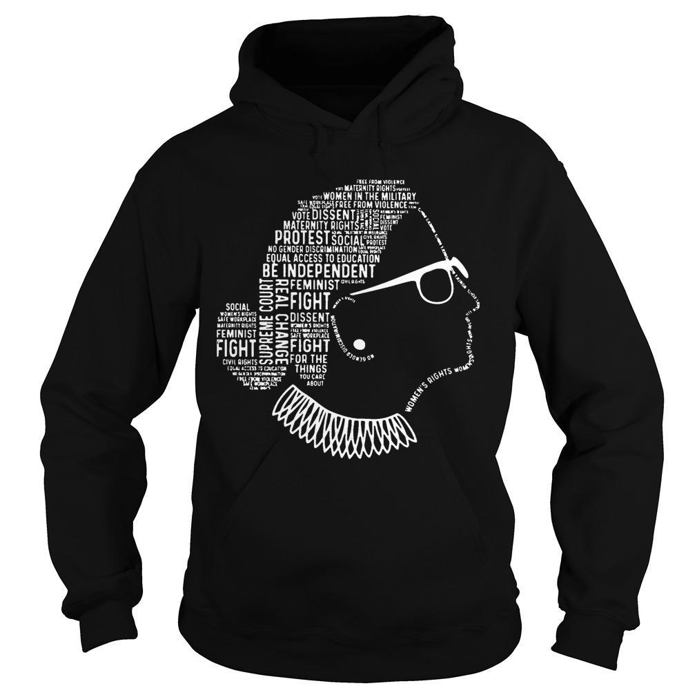 Be Independent Rbg Silhouette Hoodie