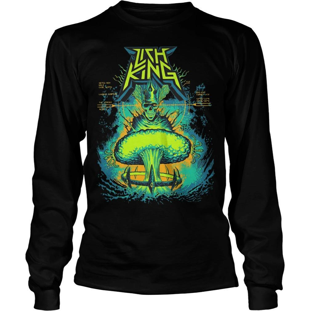 Born Of The Bomb Lich King Longsleeve