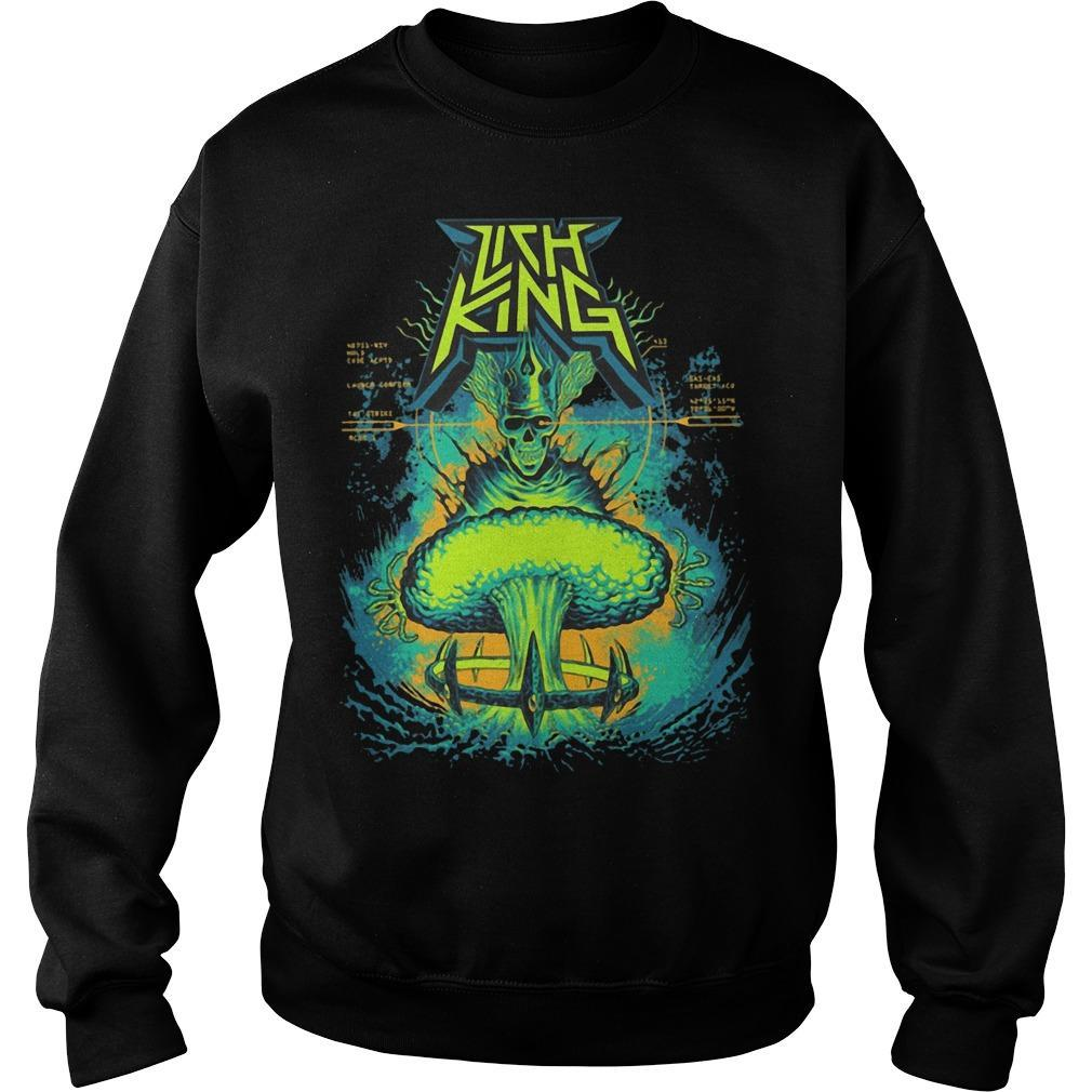 Born Of The Bomb Lich King Sweater