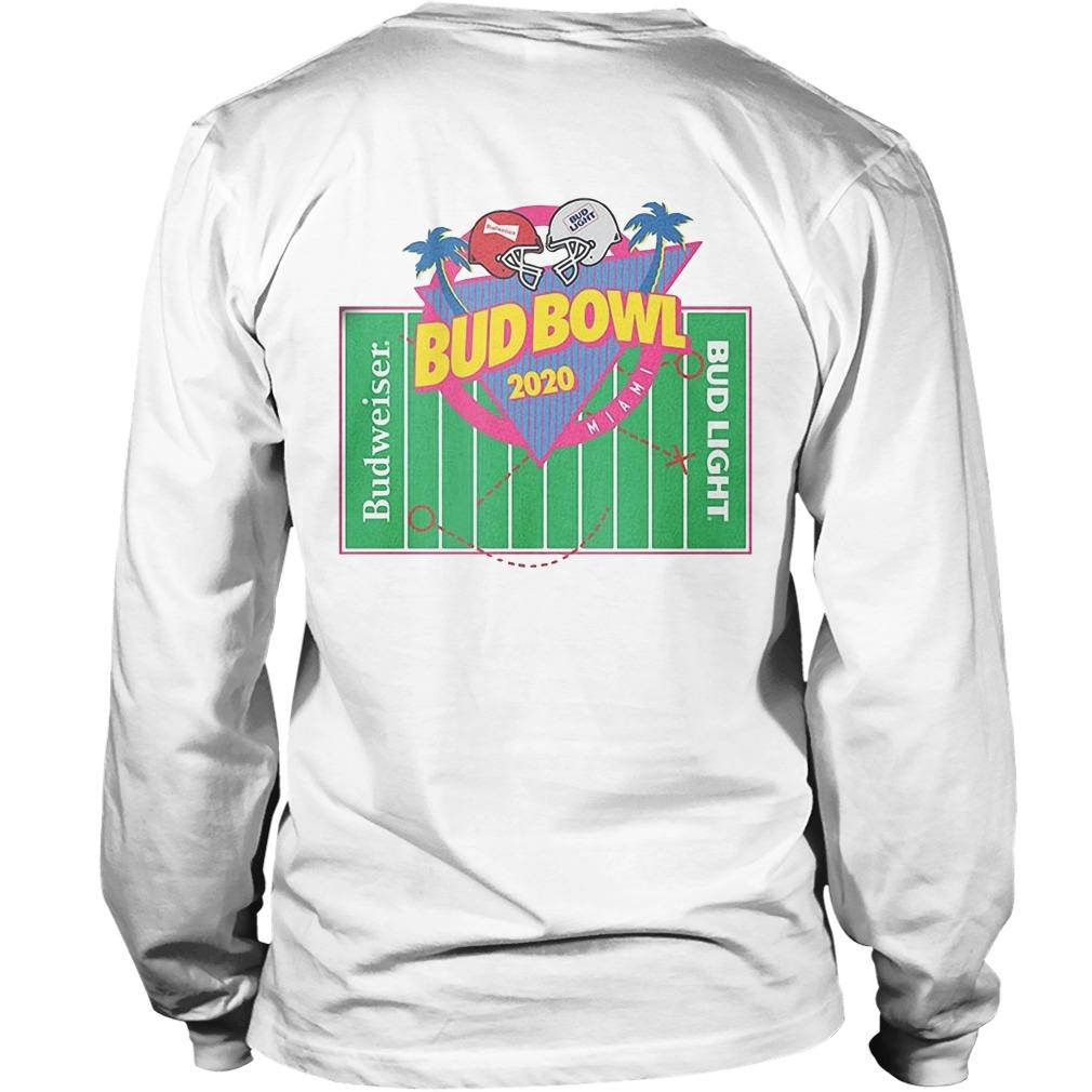 Bud Bowl 2020 Budweiser Bud Light Longsleeve