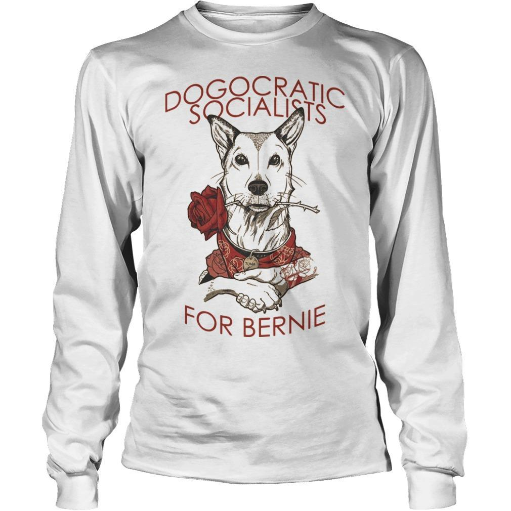 Chris Stedman Dogocratic Socialists For Bernie Longsleeve