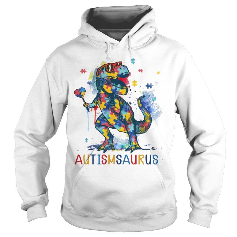 Dinosaur Autismsaurus Hoodie