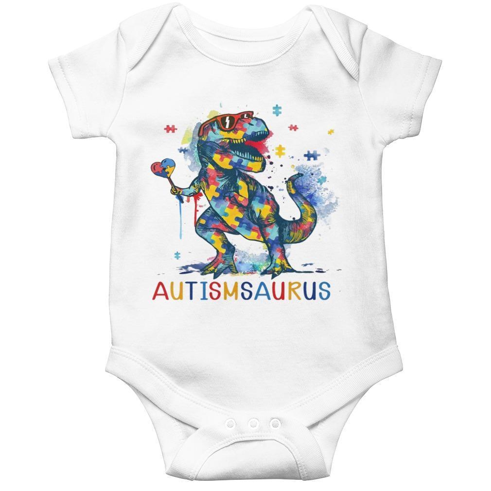 Dinosaur Autismsaurus Longsleeve