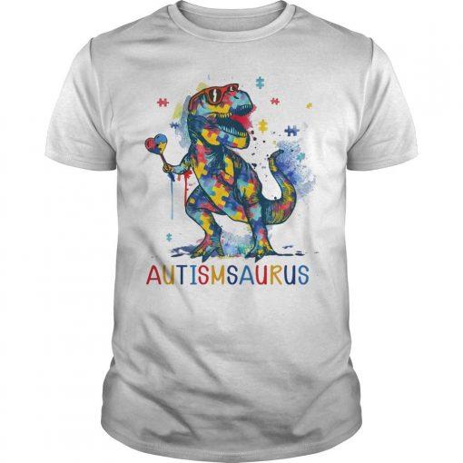 Dinosaur Autismsaurus Shirt