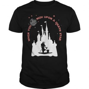Disney The Mandalorian And Baby Yoda When You Wish Upon A Death Star Shirt