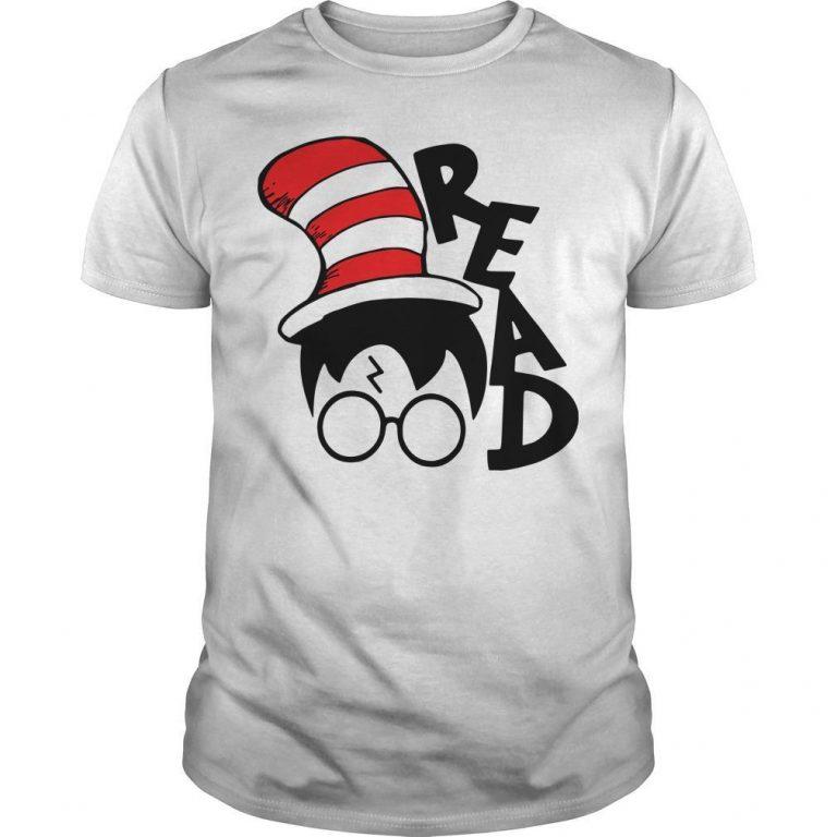 Dr Seuss Harry Potter Read Shirt