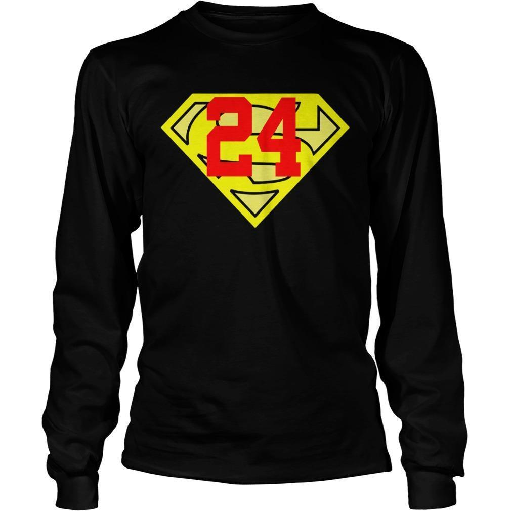 Dwight Howard Kobe Bryant Superman 24 Longsleeve