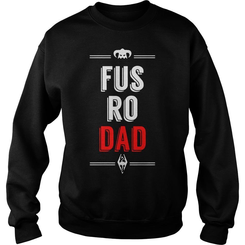 Fus Ro Dad Sweater