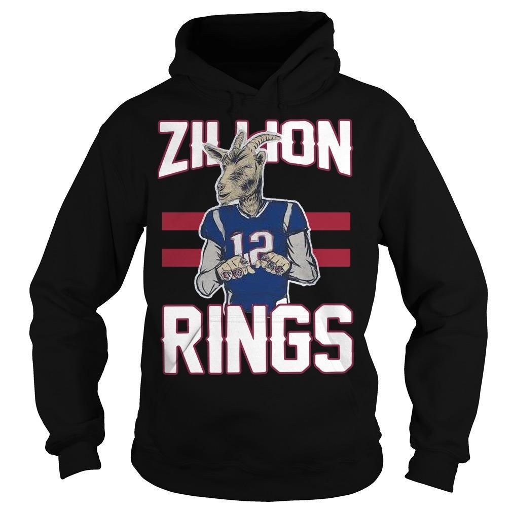Goat 12 Zillion Rings Hoodie
