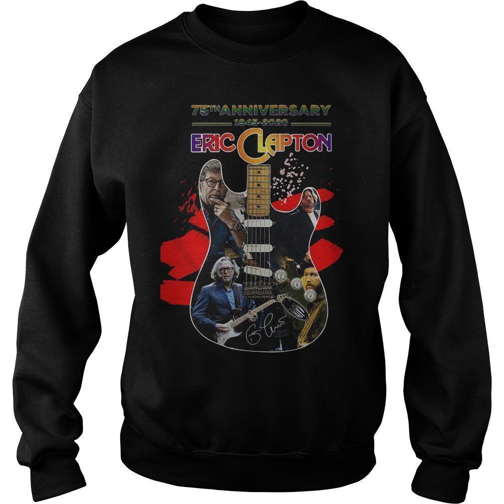 Guitar 75th Anniversary 1945 2020 Eric Clapton Signature Sweater