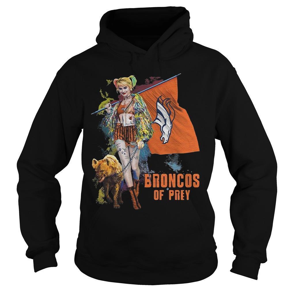 Harley Quinn Denver Broncos T Hoodie
