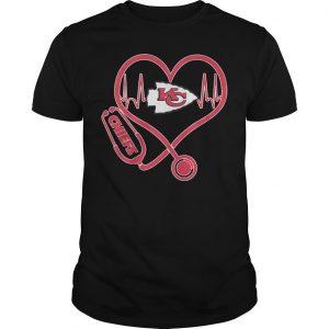 Heart Stethoscope Kansas City Chiefs Shirt