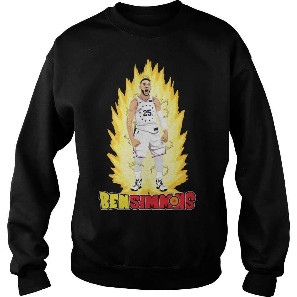 He's On Fire Ben Simmons Sweater