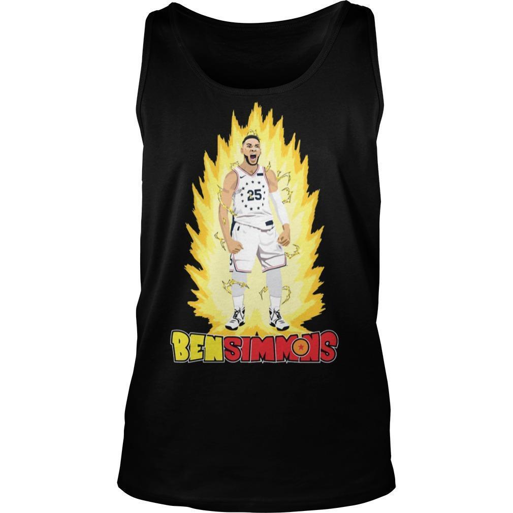 He's On Fire Ben Simmons Tank Top