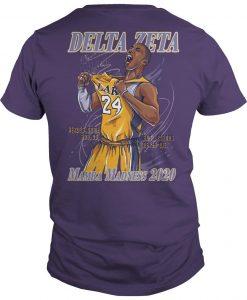 Hoops For Hearing Delta Zeta Mamba Madness 2020 Shirt