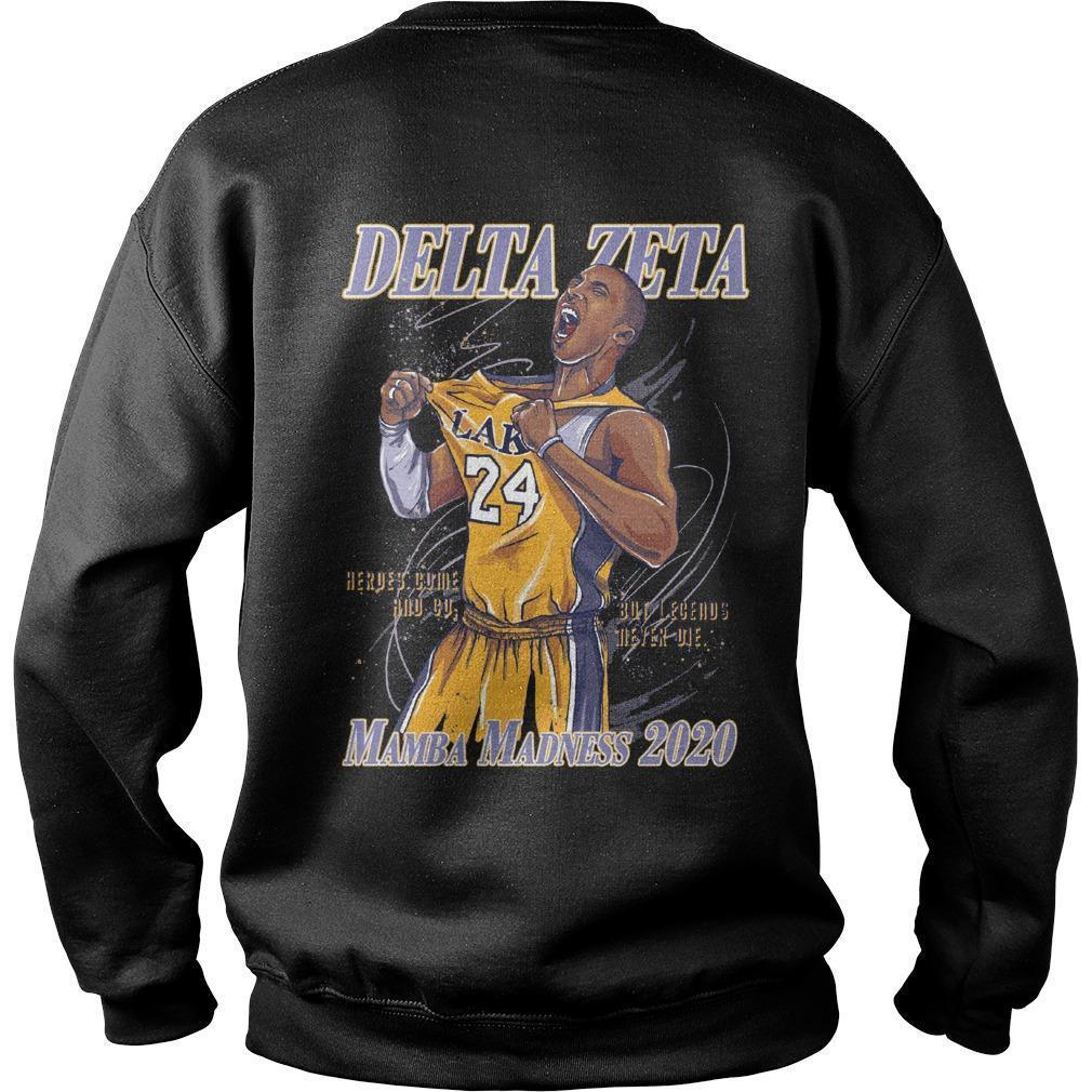 Hoops For Hearing Delta Zeta Mamba Madness 2020 Sweater