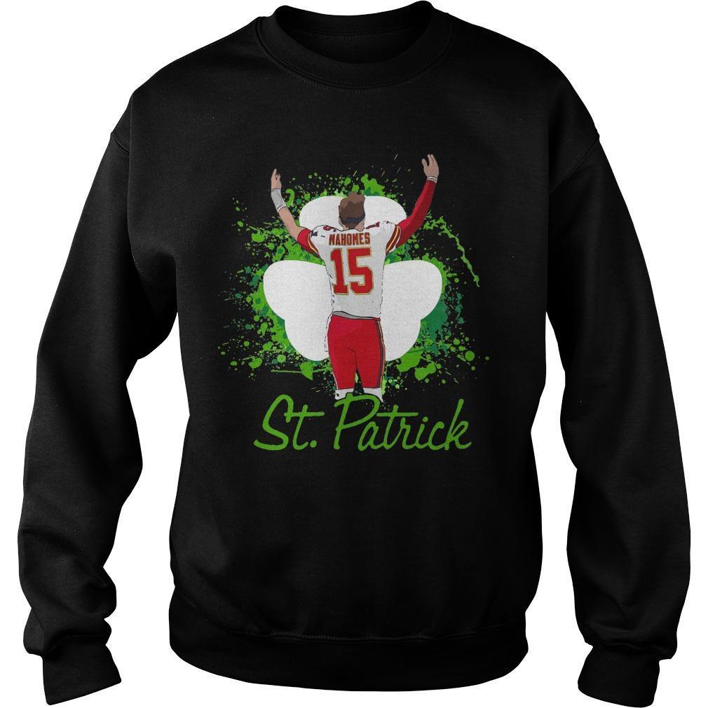 Irish Mahomes St Patrick Sweater