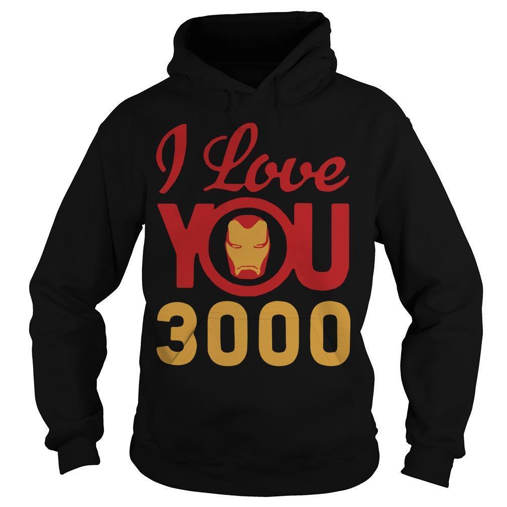 Iron Man I Love You 3000 Hoodie