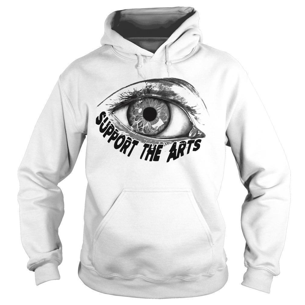 Jon Lion Eye Support The Arts Hoodie