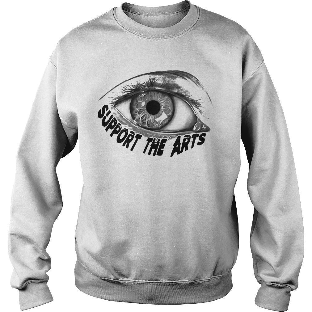 Jon Lion Eye Support The Arts Sweater