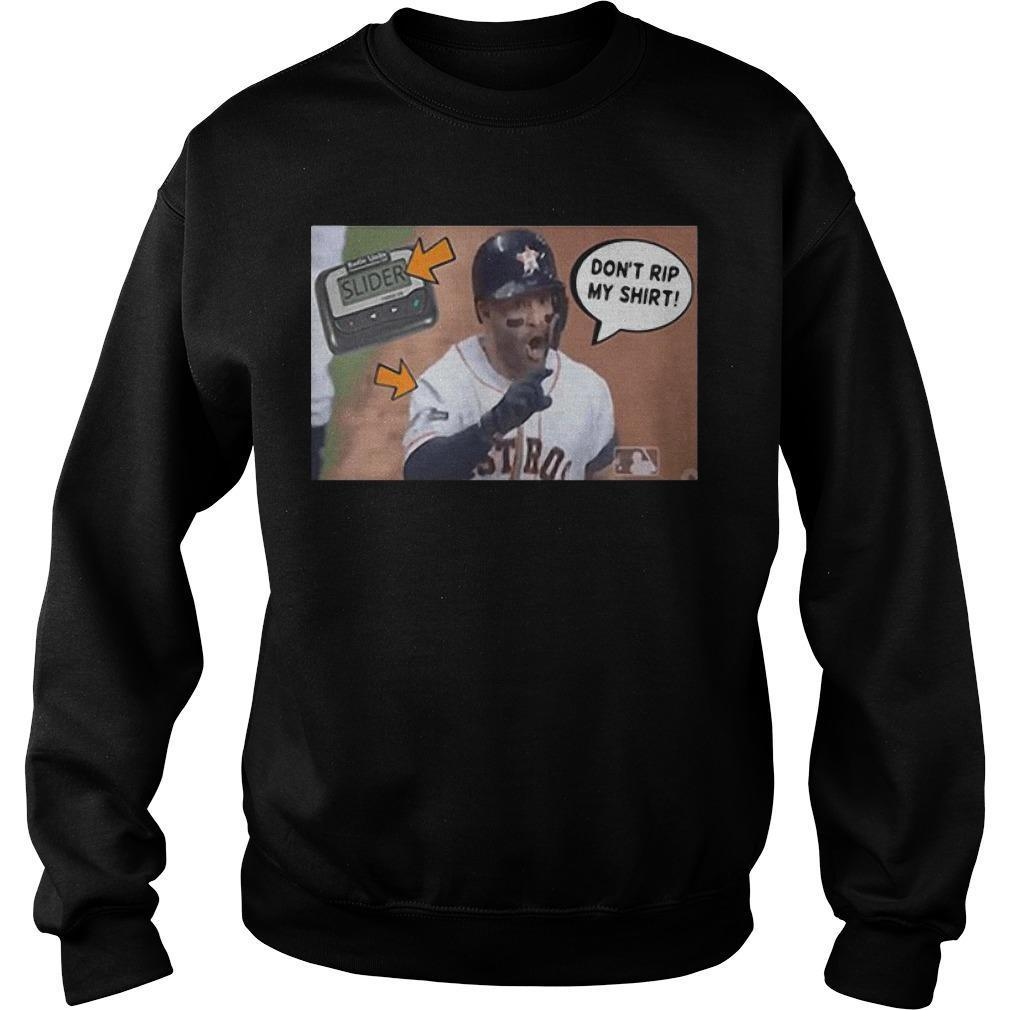 Jose Altuve Rip Sweater