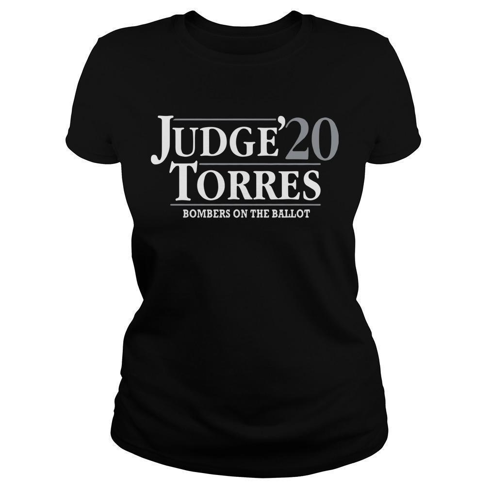 Judge Torres 20 Bombers On The Ballot Longsleeve