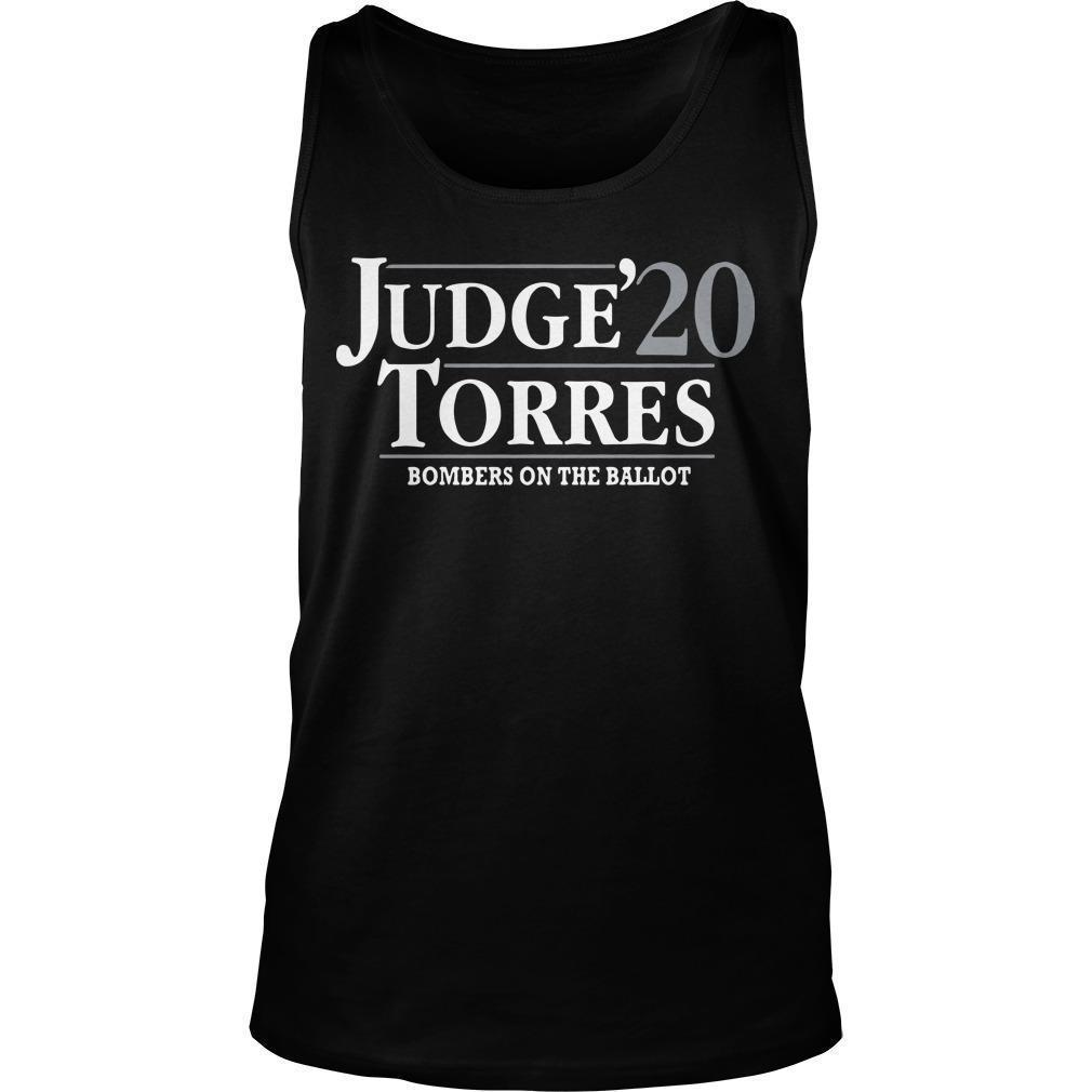 Judge Torres 20 Bombers On The Ballot Tank Top