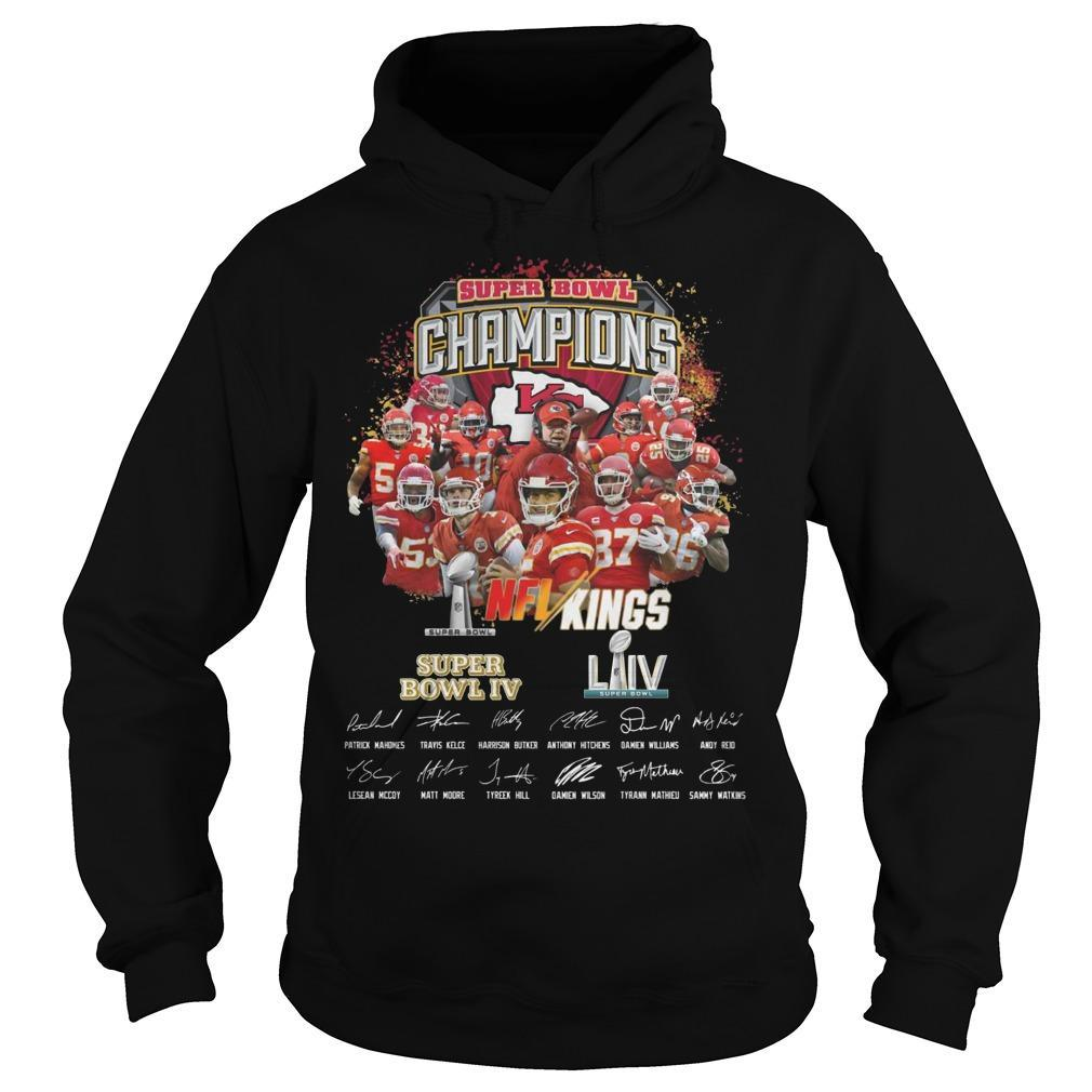 Kansas City Super Bowl Champions NFL Kings Hoodie