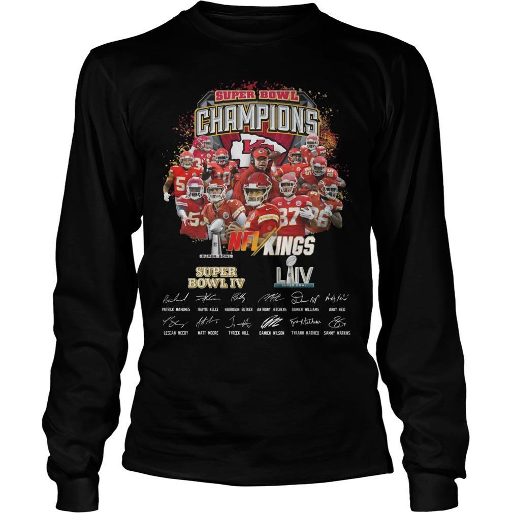 Kansas City Super Bowl Champions NFL Kings Longsleeve