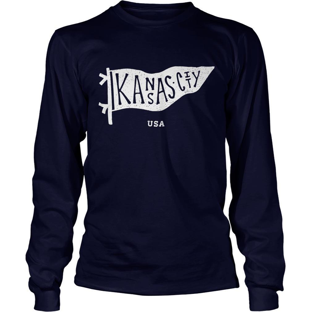 Kansas City Usa Longsleeve
