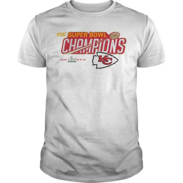 Kc Mickey Super Bowl Liv Champions Shirt