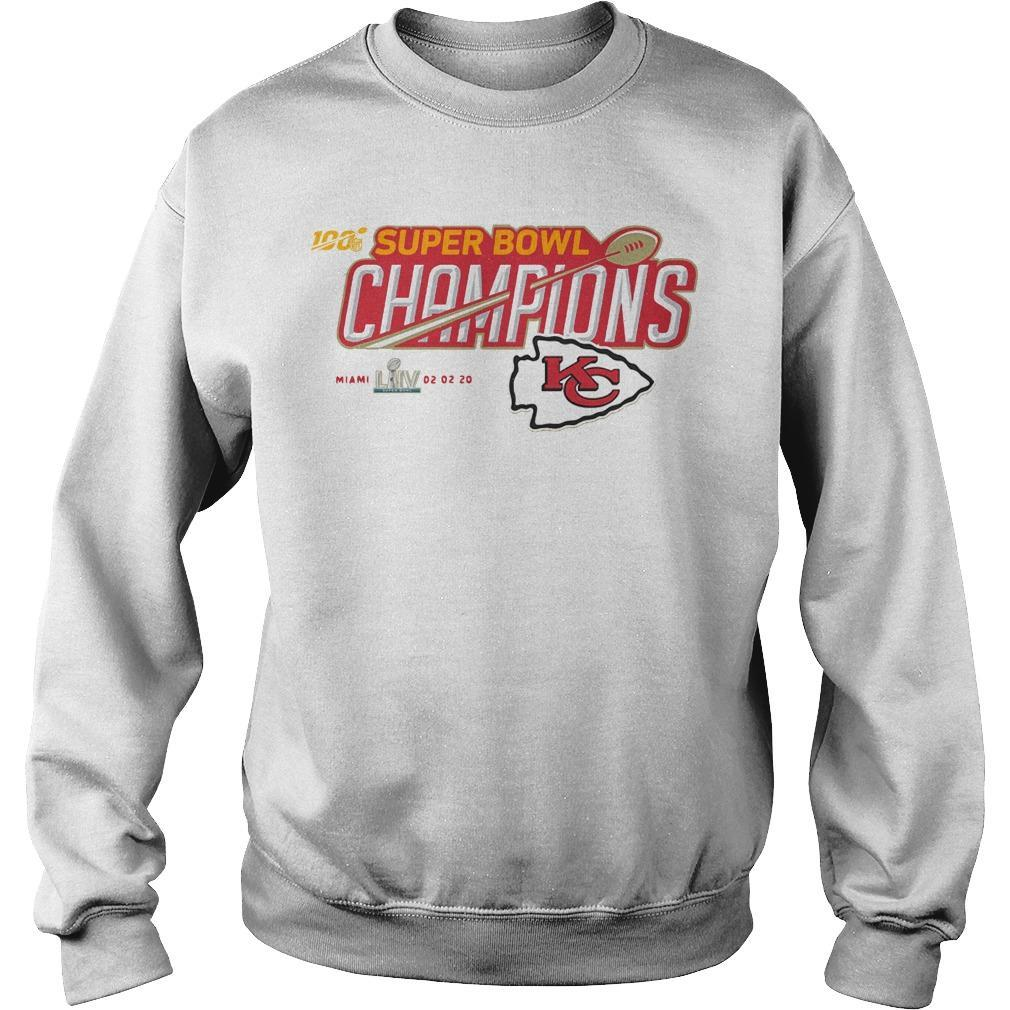 Kc Mickey Super Bowl Liv Champions Sweater