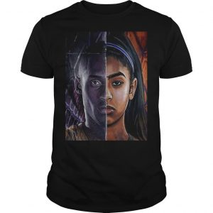 Kobe Bryant And Daughter Face shirt