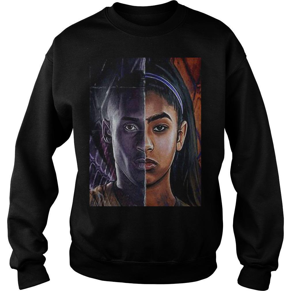 Kobe Bryant And Daughter Face shirt Sweater